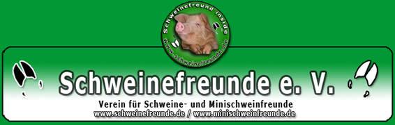 Schweinefreunde Minischweinfreunde Logo