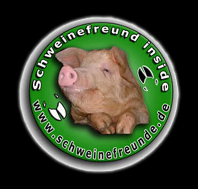 Schweinefreunde Logo schwarz